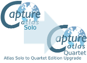 Capture Atlas Solo to Quartet Edition Upgrade