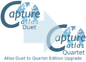 Capture Atlas Duet to Quartet Edition Upgrade